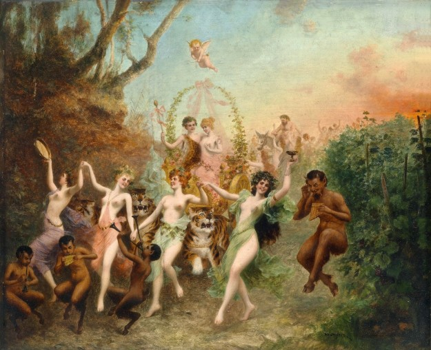 Feast Of Fauns And Nymphs