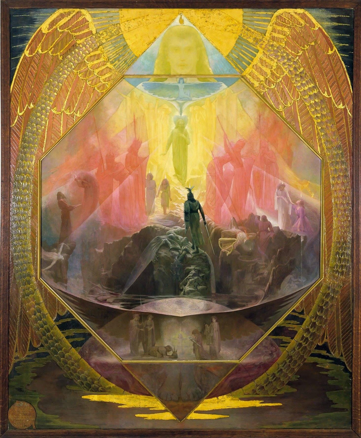The Path, by Reginald W. Machell